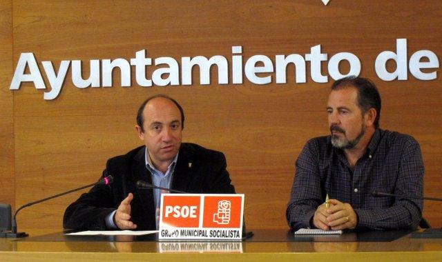 Urquía Y De La Fuente, En La Rueda De Prensa