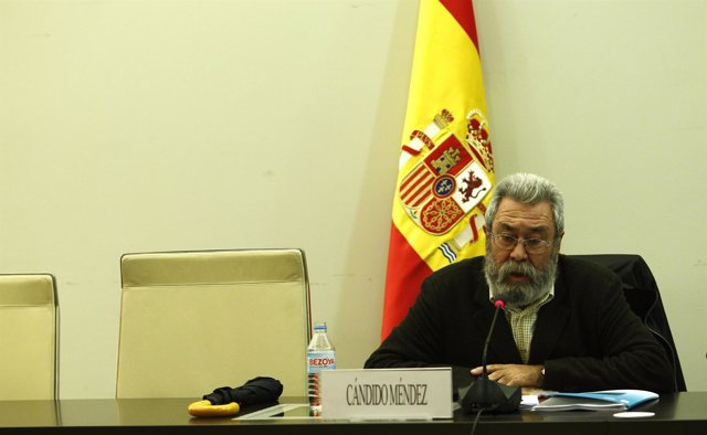 El Líder De UGT, Cándido Méndez