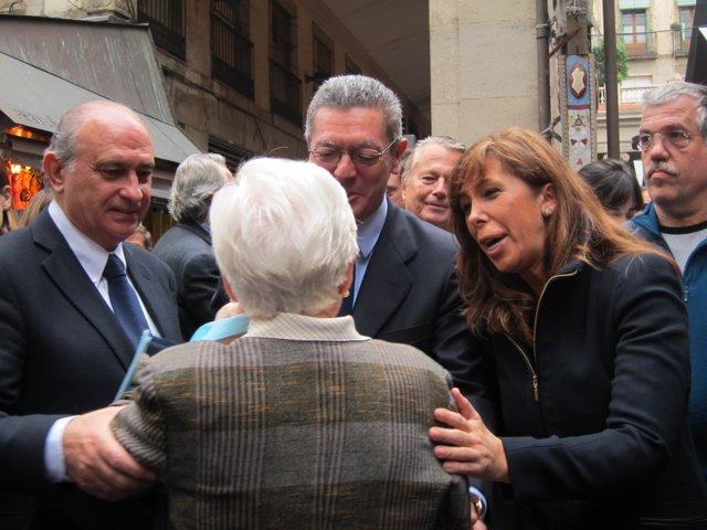 J.Fernández, A.R.Gallardón Y A.S.Camacho (PP)
