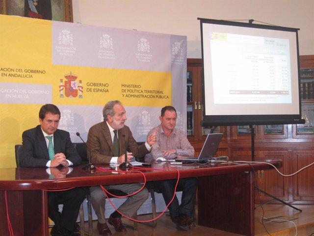 El Subdelegado Del Gobierno En Huelva, Manuel Bago.