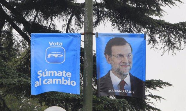 Cartel Electoral Del PP