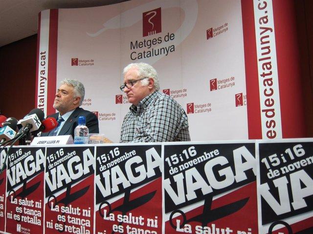 Anuncio De Huelga Del Sindicato Metges De Catalunya / Médicos De Catalunya