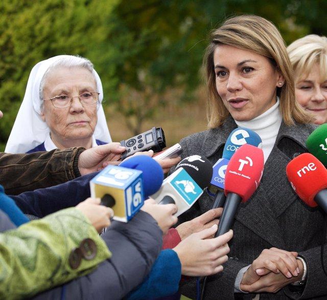 La Presidenta De Castilla-La Mancha, María Dolores Cospedal
