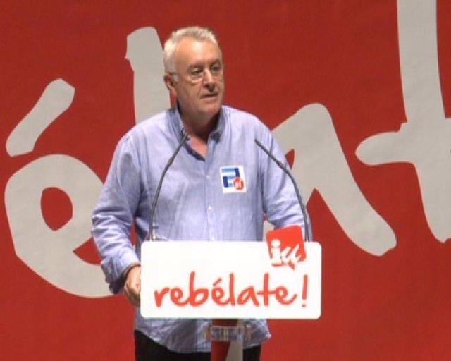 Cayo Lara, Candidato A La Presidencia Del Gobierno Por IU