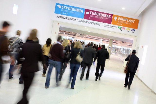 Salones De Química Aplicada Expoquimia, Eurosurfas Y Equiplast