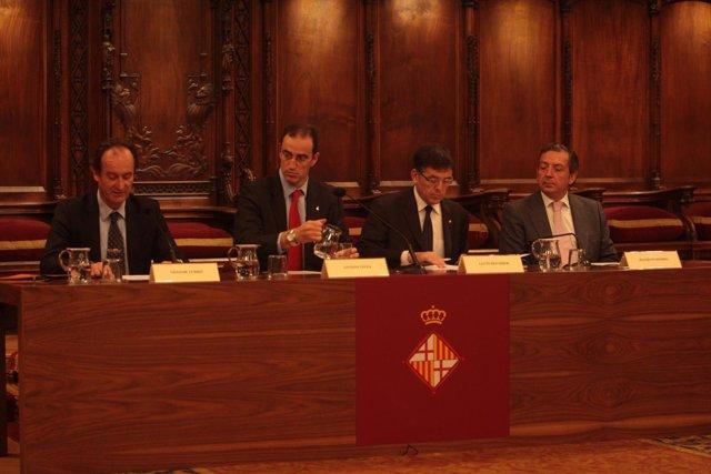 Acto Del 800 Aniversario Del Gremio De Constructores De Barcelona