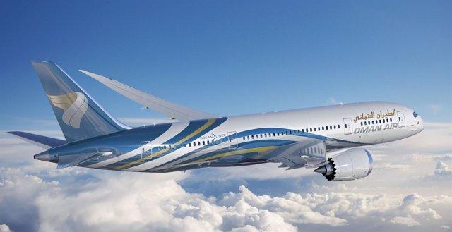 El 787 De Oman Air