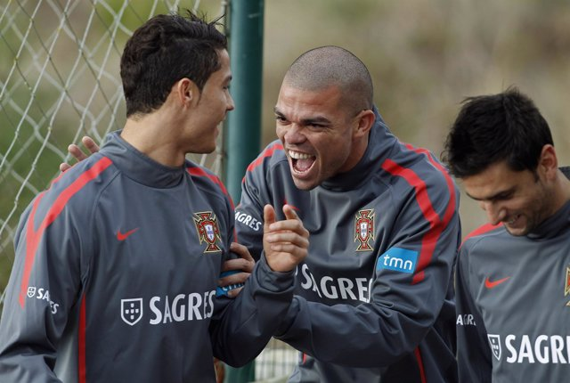 Cristiano Ronaldo, Pepe  Y Helder Postiga