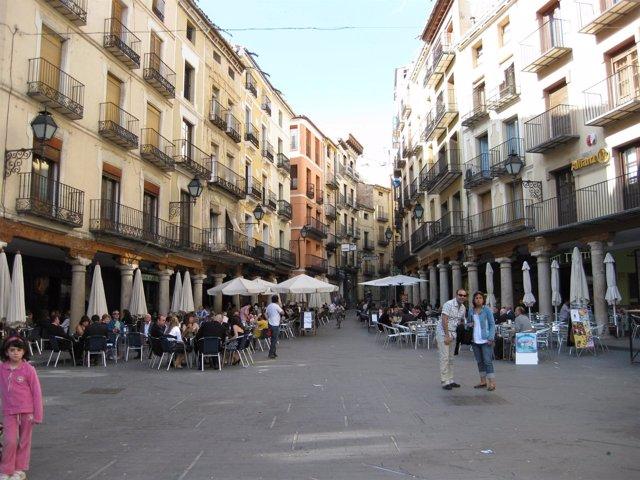Imagen De Una Calle De Teruel