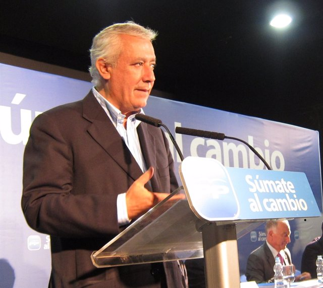 El Presidente Del PP-A, Javier Arenas