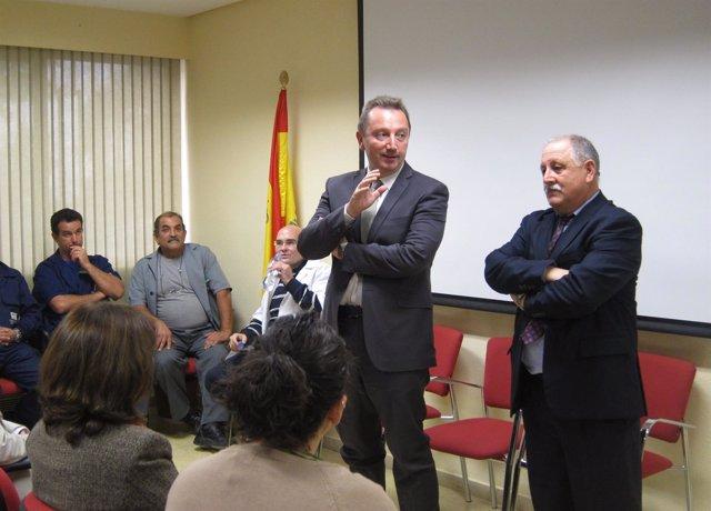 El Consejero De Empleo, Manuel Recio