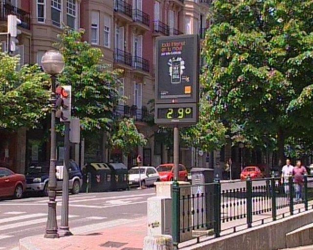 Altas temperaturas en Bilbao