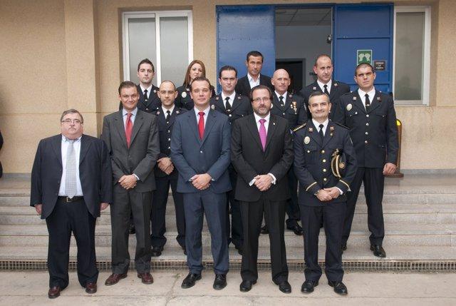 Asistentes A La Misa Por El Patrón De La Policía Local De Cartagena, San Leandro