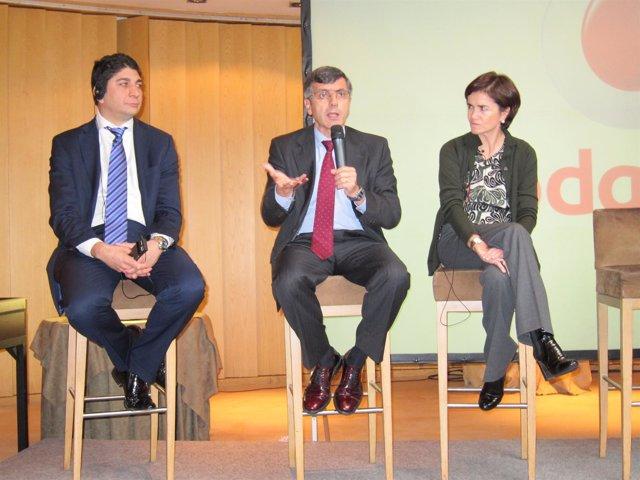 Shameel Joosub  (CEO) Y Francisco Román (Presidente) Vodafone España