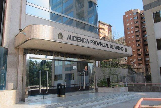 Sede De La Audiencia Provincial De Madrid