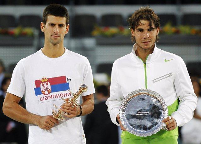 Djokovic gana el Master Madrid  A Nadal