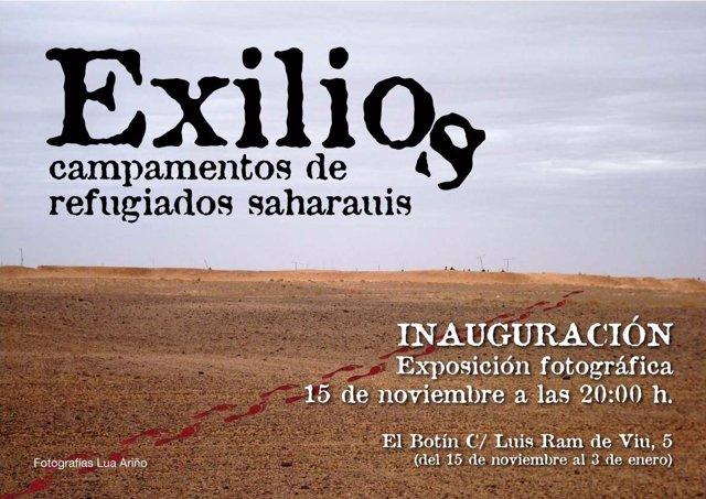 Cartel Exposición Fotos Del Sáhara