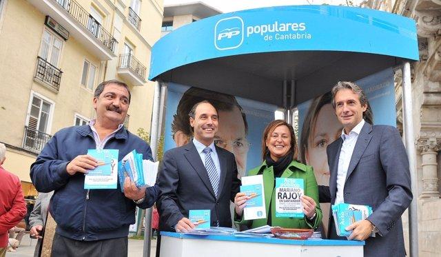 Piñeiro, Diego, Madrazo Y De La Serna En Santander