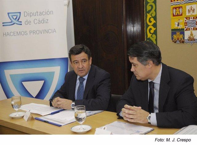 El Presidente De La Diputación, José Loaiza