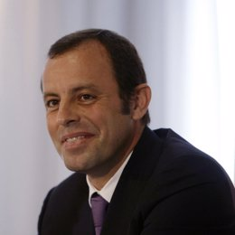 El vicepresidente deportivo del FC Barcelona Sandro Rosell