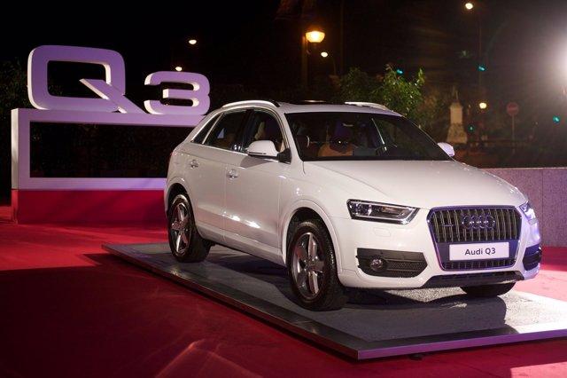Audi Q3, Presentación Especial A Clientes