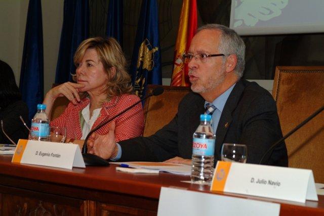Eugenio Fontán. Decano Preesidente Del COIT