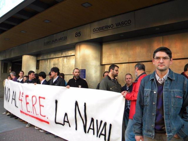 Protesta De La Naval