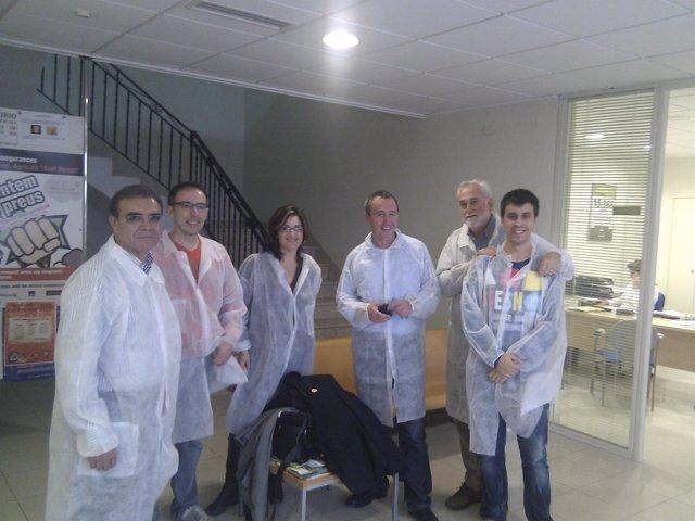 Baldoví Visita La Cooperativa De Carlet