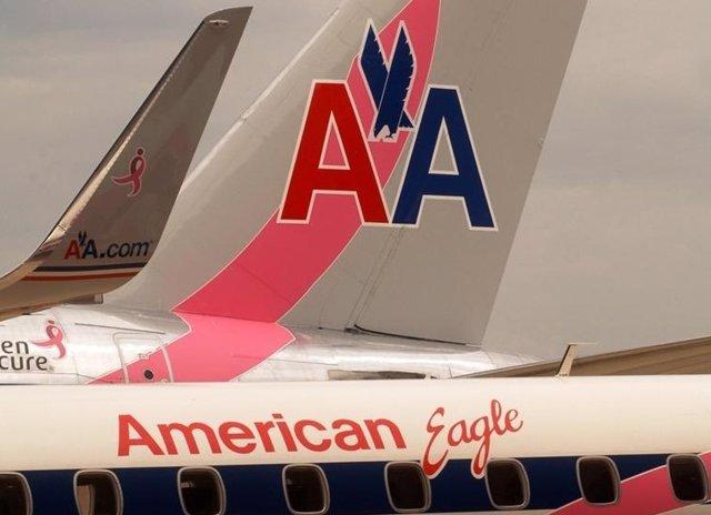 Avión De American Eagle
