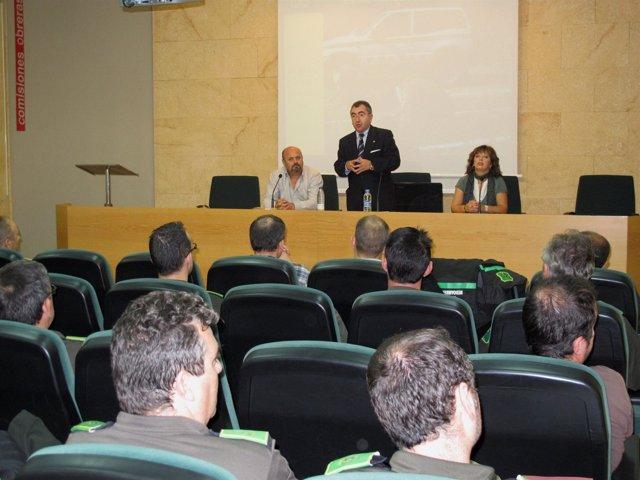 Inauguración Del Curso Sobre La 'Investigación Del Delito De Incendio Forestal'