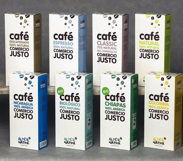 Café Comercio Justo Sello Fairtrade