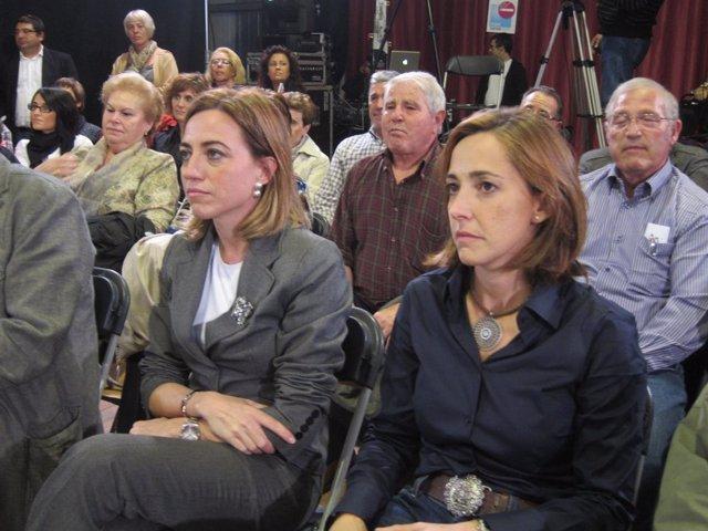 Carme Chacón Y Mònica Almiñana