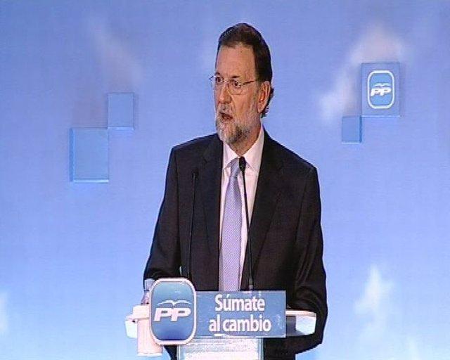 Rajoy critica la mala gestión del gobierno