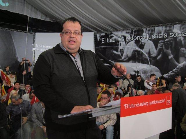 El Candidato A Liderar El PSC Joan Ignasi Elena