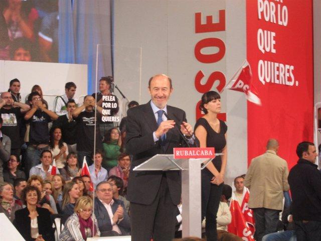 Alfredo Pérez Rubalcaba en Vigo.