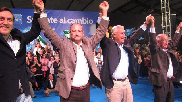 Arenas Con Los Candidatos Almerienses.