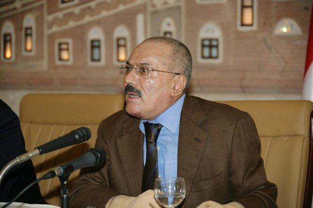 El Presidente De Yemen, Abdulá Salé