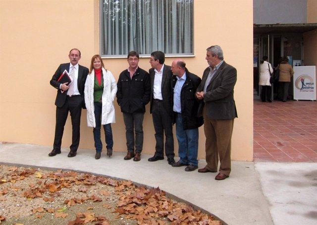 Pajín Junto A Los Candidatos Socialistas Por Valladolid
