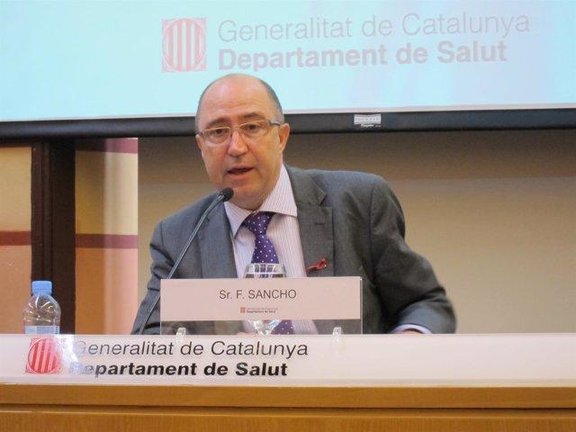 Francesc Sancho, De La Conselleria De Salud De Catalunya