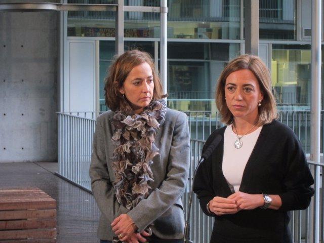 Mònica Almiñana Y Carme Chacón (PSC)