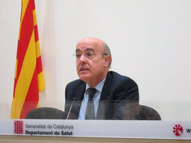 El Conseller De Salud De La Generalitat, Boi Ruiz