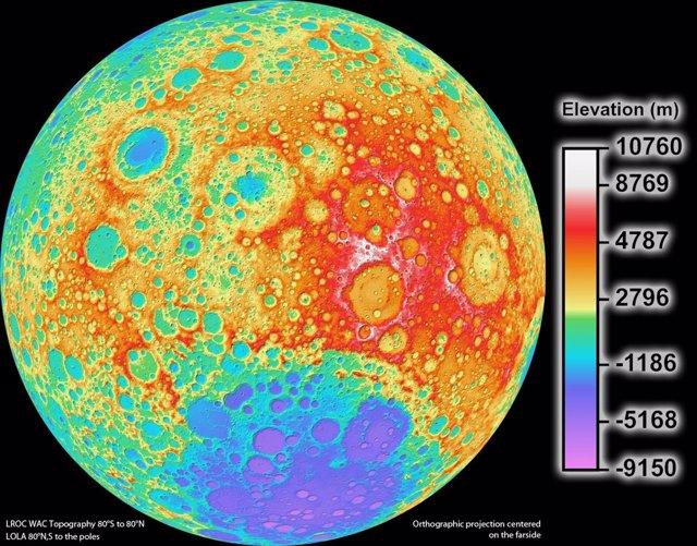 Topografía Lunar