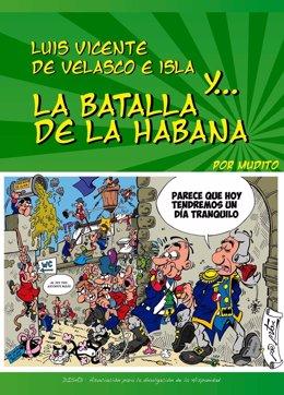 Portada Del Cómic Histórico Sobre Luis Vicente De Velasco