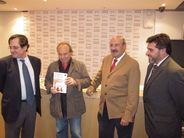 F.Marhuenda (La Razón) A.San Agustín, J.Rubio (Vida Nueva) J.P.Castellano (Khaf)