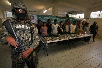 México.- Detienen en México a 14 presuntos miembros de Los Zetas