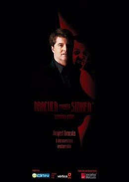 Cartel Promocional Del Film 'Dracula Meets Stoker'