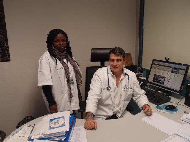 Médica Guineana Que Se Está Formando En Son Espases.