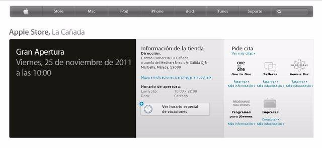 Apertura Apple Store Marbella