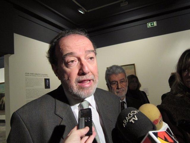 El Director De Patrimonio Cultural, Javier Callizo.