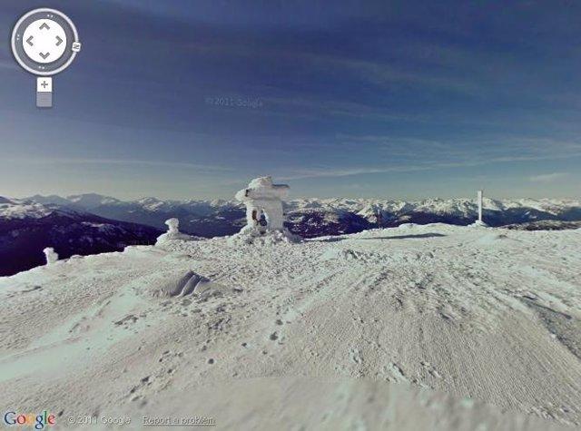 Estación De Esquí Desde Google Street View